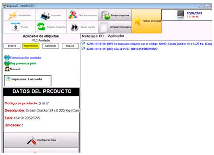 Software de identificación de producto